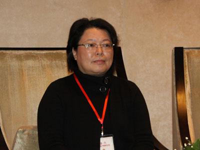图文:上海师范大学女子文化学院院长朱易安