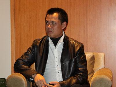 图文:深圳创意文化投资公司董事长钟伟鹏