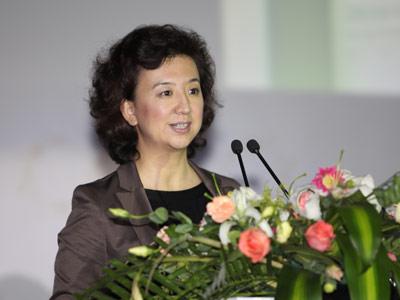 中国企业家俱乐部秘书长程虹介绍树绿家园项目