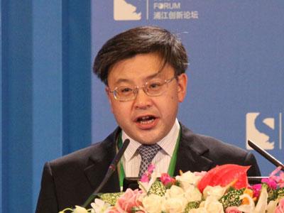 图文:成都市副市长傅勇林演讲