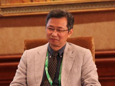 图文:浙江大学管理学院常务副院长吴晓波