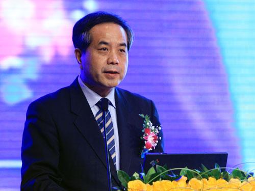 教育部党组成员、部长助理吴德刚(来源:新浪财经 陈鑫 摄)