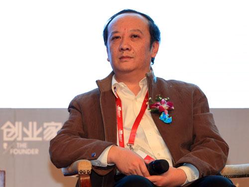 北京神州泰岳软件股份有限公司董事长王宁(来源:新浪财经 陈鑫 摄)