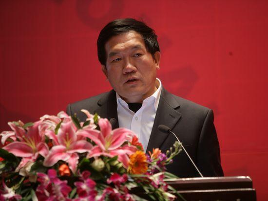 """""""第八届中国文化产业新年论坛""""于2011年1月8日-9日在北京召开。上图为中国社会科学院文化研究中心副主任张晓明。(资料图片)"""