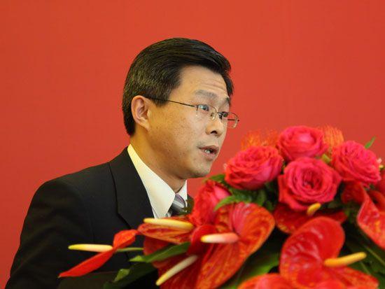 远大科技集团有限公司-空调公司用户中心总经理胡杰(图片来源:新浪财经 梁斌 摄)