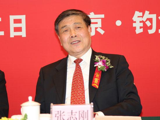 中国商业联合会会长张志刚(图片来源:新浪财经 梁斌 摄)