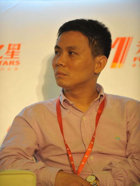 上海复星创富投资管理公司总裁唐斌(新浪财经 陈鑫 摄)