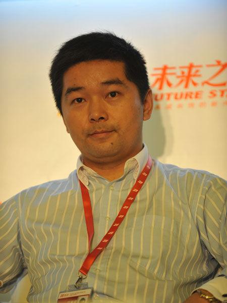 华康保险代理有限公司首席执行官汪振武(新浪财经 陈鑫 摄)