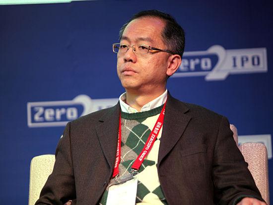"""""""第十一届中国创业投资暨私募股权投资年度论坛""""于2011年12月7日-8日在北京举行。上图为达泰资本创始合伙人叶卫刚。(图片来源:新浪财经 梁斌 摄)"""