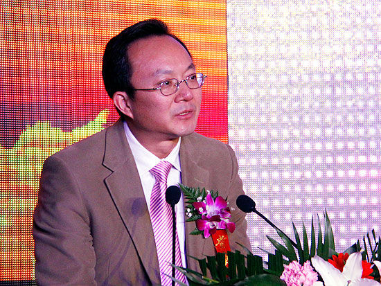 中国人民保险集团股份有限公司副总裁李玉泉(新浪财经 陈鑫 摄)