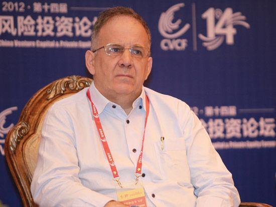 """""""2012(第十四届)中国风险投资论坛""""于2012年6月6日-9日召开,上图为Tallwood中国执行官白杰先。(图片来源:新浪财经 梁斌 摄)"""