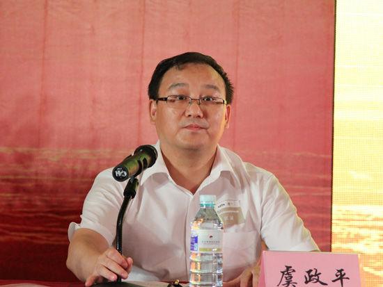 2012年7月29日,第三届中国上市公司风险管理高峰论坛在北京大学博雅国际会议中心隆重举办。图为最高人民法院审判监督庭副庭长虞政平主持论坛。(来源:新浪财经 任立殿摄)