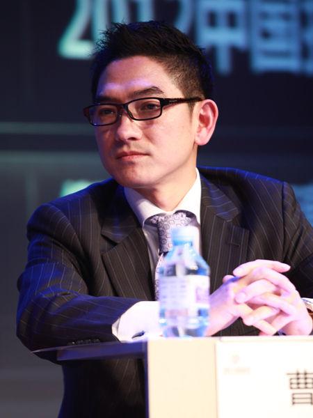 """""""2012中国技术商业领袖峰会""""于2012年11月16-17日在北京举行。上图为思杰公司大中华区总裁曹衡康。(图片来源:新浪财经 梁斌 摄)"""