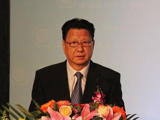 中国企联会长王忠禹致辞