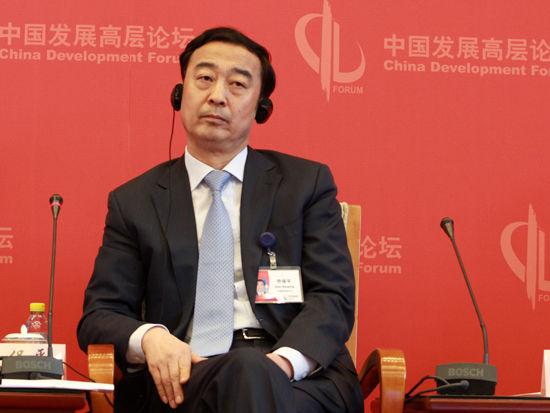 """由国务院发展研究中心主办的""""中国发展高层论坛2015""""于3月21日-23日在北京举行。图为中国国电集团公司董事长乔保平。"""