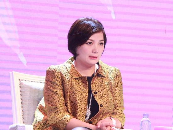 上图为诺亚财富创始人,董事局主席兼ceo汪静波.