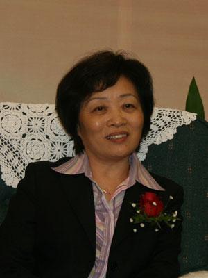 图文:交通银行资产托管部总经理谷娜莎