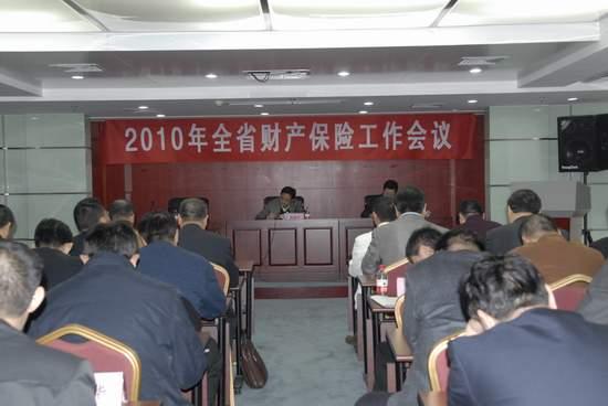 湖北保监局召开2010年全省产险工作会议