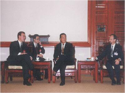 图文:1994年摩根和高盛参股中国平安保险_保