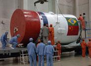 1988年中巴共同研制的卫星投入运行