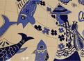 青花瓷风格画