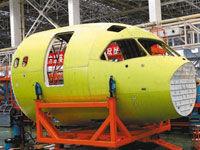 国产大飞机总装在即 千亿产业链浮现