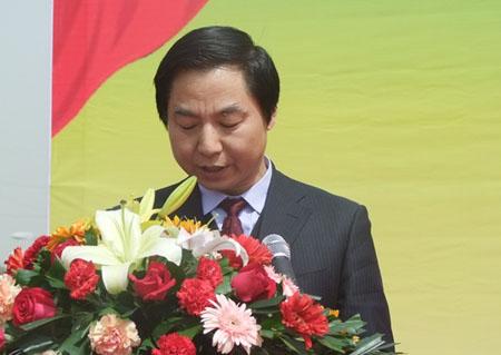 西安市委宣传部副部长、市委外宣办主任王作权致辞