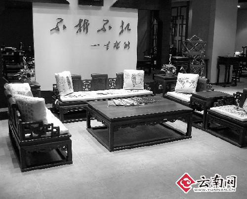 红木家具在滇称斤叫卖 每公斤最贵高达1500元