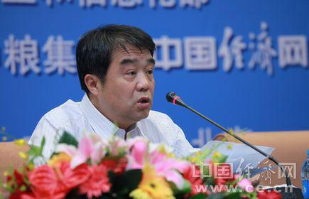 """全国食品工业""""十二五""""发展交流会6月14日在北京举行。图为中国食品工业协会副理事长兼秘书长熊必琳 中国经济网裴小阁摄"""