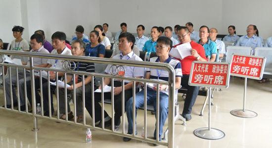 上林县法院借力阳光司法 传递司法公平正义