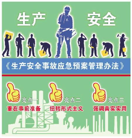 新修订《生产安全事故应急预案管理办法》将施