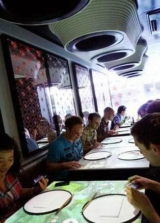 先进的点餐系统 看英国神奇的高科技餐厅(图)