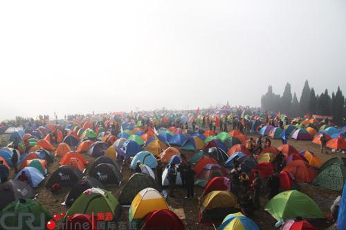 2010张家界国际帐篷节20日盛大开幕(组图)