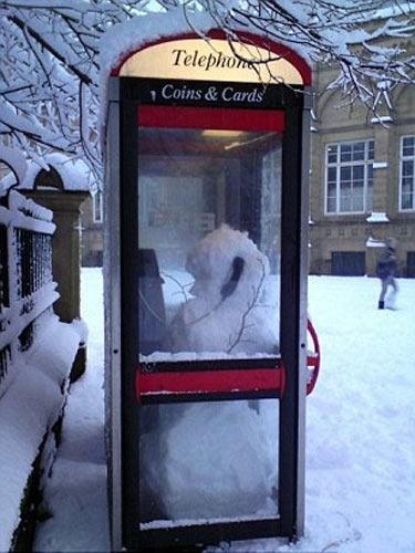 """英国或遇""""白色圣诞"""" 超低气温创百年最冷记录"""