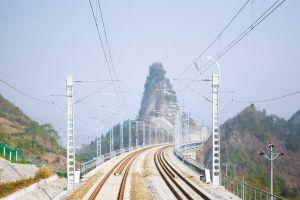 宜万铁路打通鄂渝旅游大动脉(图)