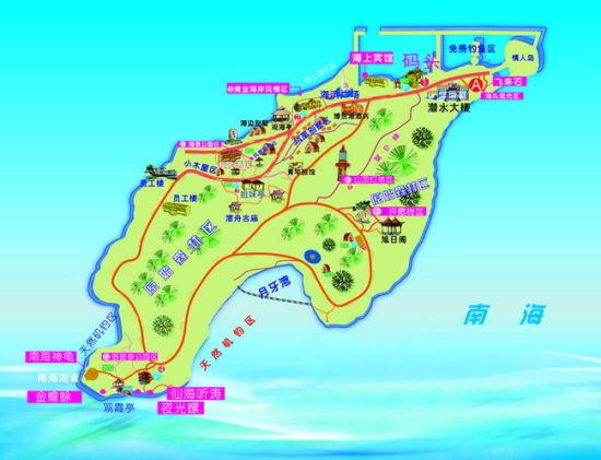 广东放鸡岛:一个无人岛开发的样本(图)