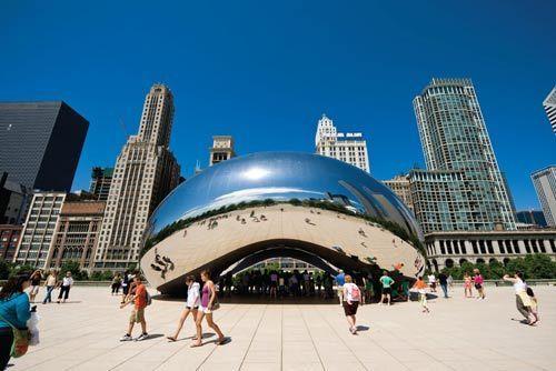 美国芝加哥:如风一样自由的城市(组图)