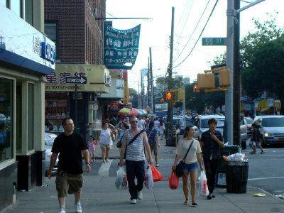 布鲁克林8大道成纽约最大中国城(图)