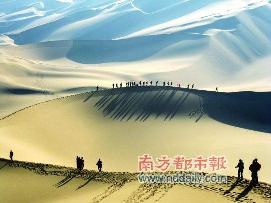 行走热带荒漠 遥想三毛与荷西(图)