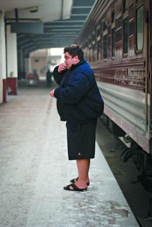 列车就是西伯利亚游一部分(图)