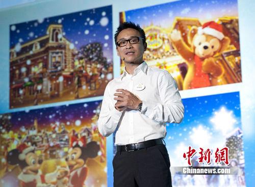 """香港迪士尼在穗宣传""""反斗奇兵""""园区拓内地市场"""