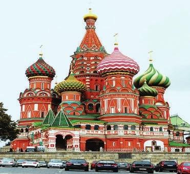莫斯科地铁也是博物馆 老街随处是文化印记