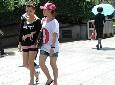 上海美眉短裤秀美腿