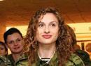 俄罗斯军队中的美女们