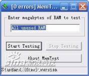 内存检测工具 MemTest 5.0
