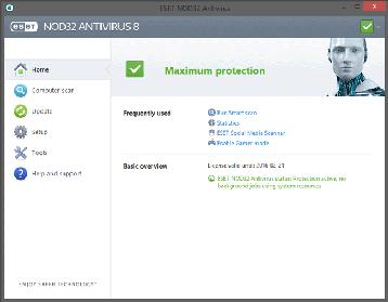 ESET NOD32 Antivirus 32位英文版 10.1.204.0