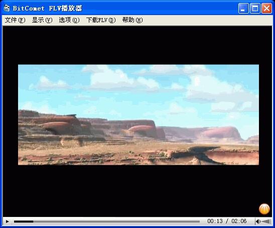 BitComet FLV视频播放器 1.0