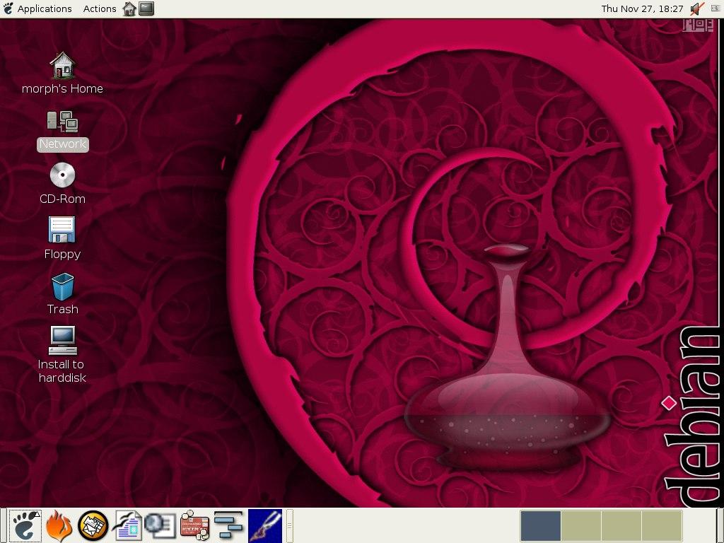 Debian GNU/Linux 8.8.0