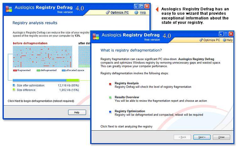 注册表整理 Auslogics Registry Defrag 9.1.0.0