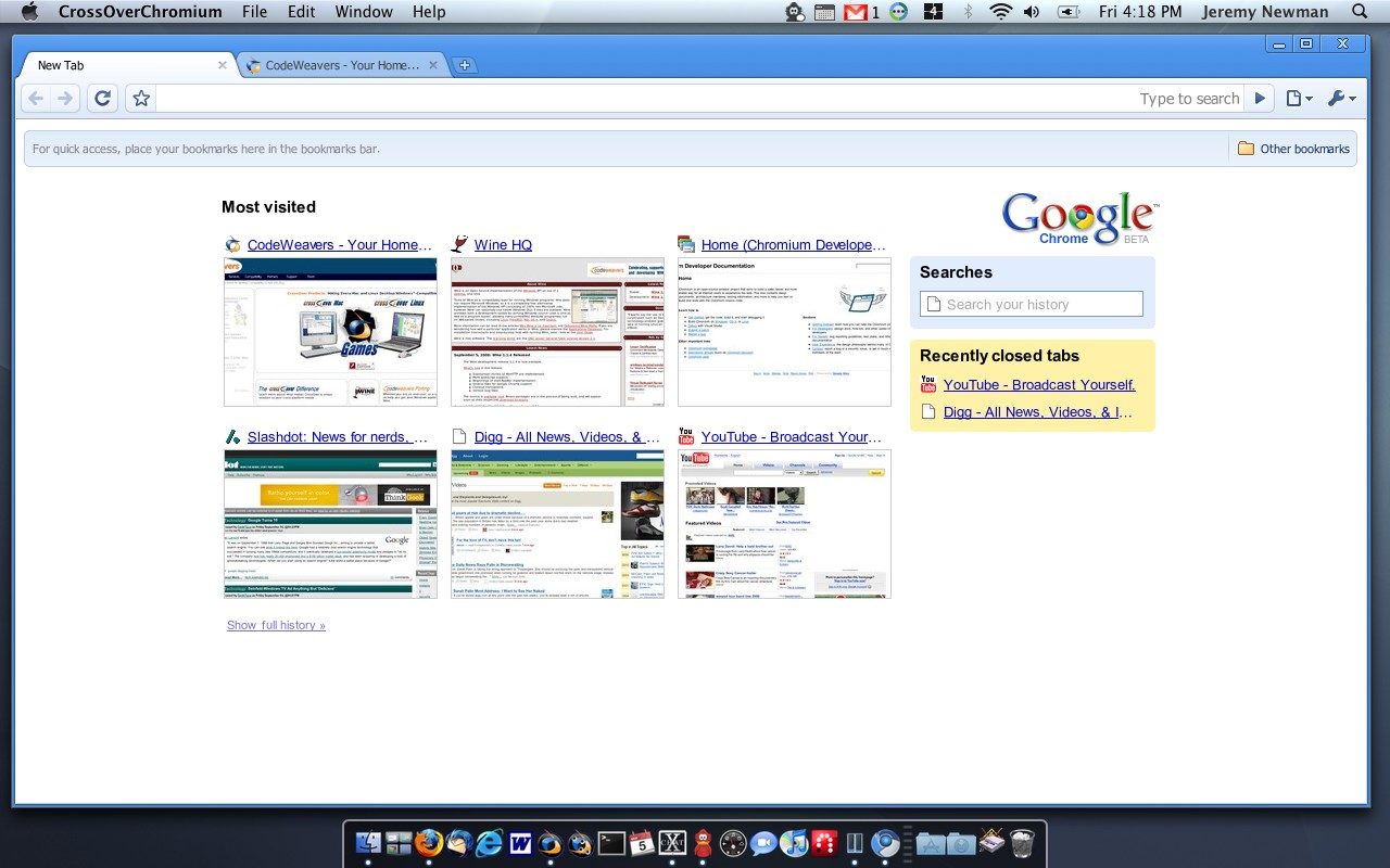 Chromium for Mac 57.0.2977.0